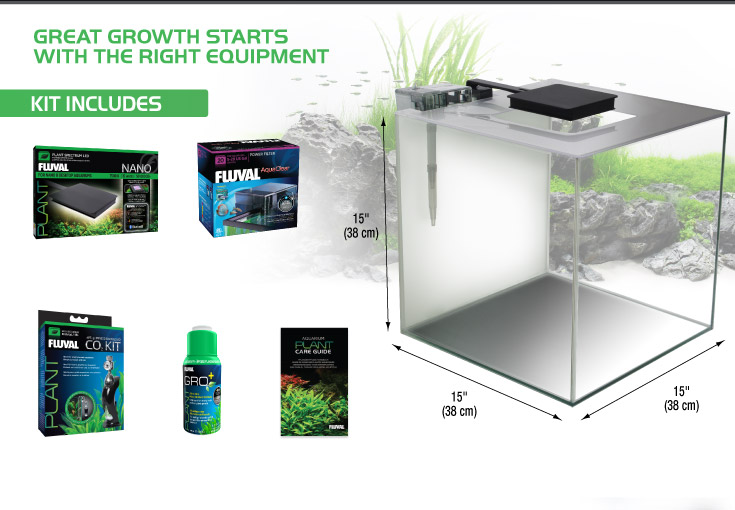 Fluval Flora - Greath growth starts with the right equipment