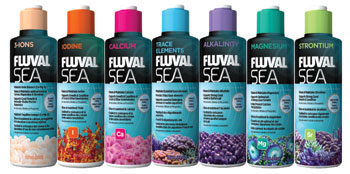 Fluval sea marine supplements
