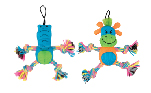 Zeus Mojo Brights Rope Pals - Alligator or Giraffe - Assorted