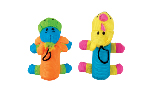 Zeus Mojo Brights Noodle Doodles - Rhino or Giraffe - Assorted