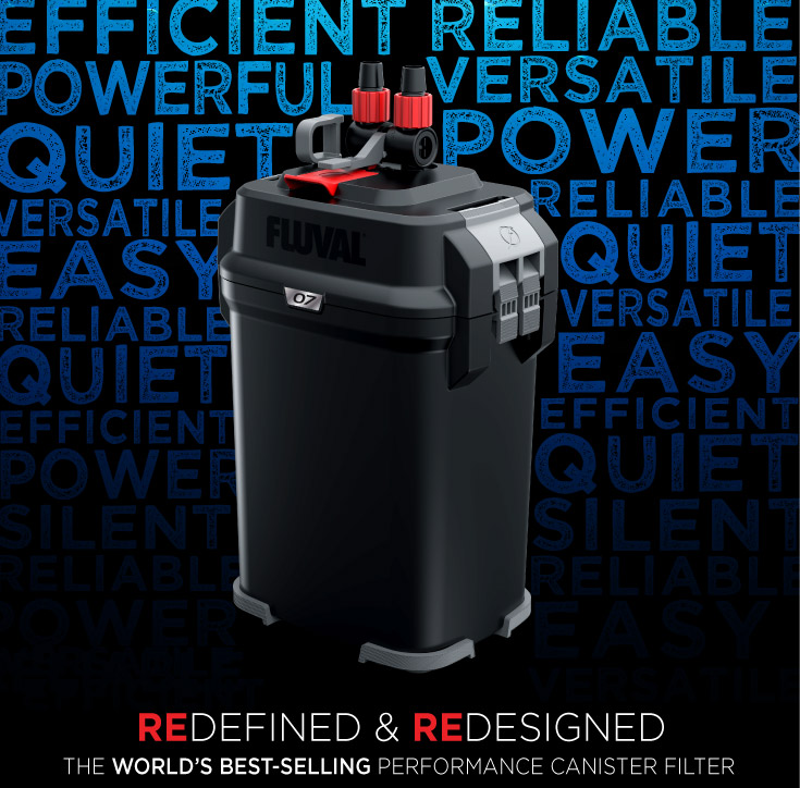 Fluval 07 - The world's best-selling performance canister filter