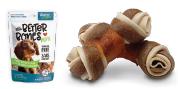 Zeus Better Bones - Peanut butter Flavour - Chicken-Wrapped Mini Bones