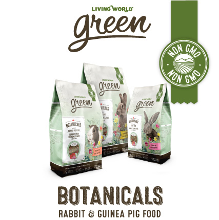Living World Green Botanicals small animal food