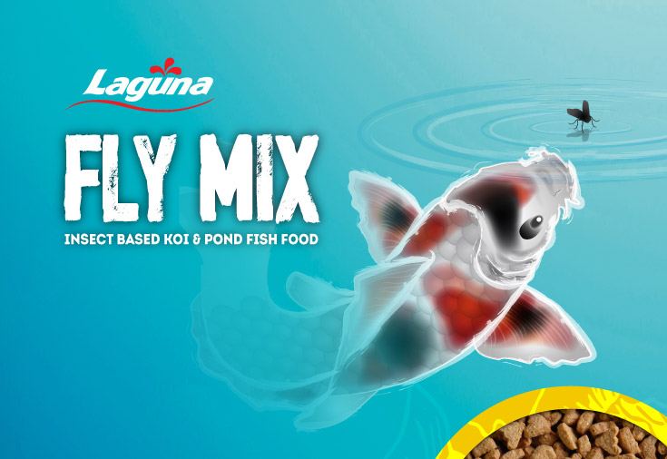 Laguna Fly Mix - Insect based Koi and Pond Fish food