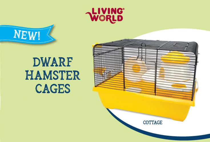 Living World Dwarf Hamster cages