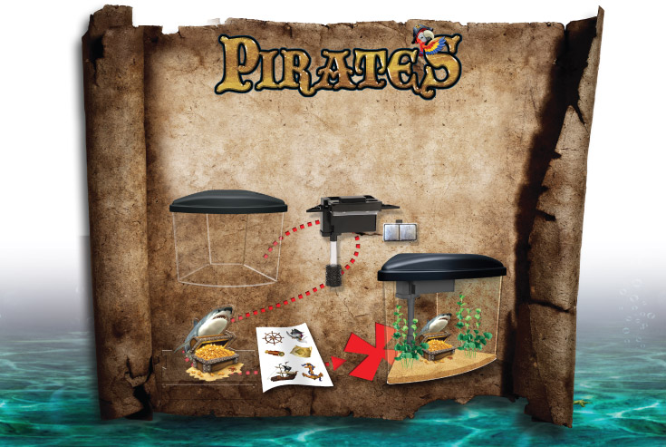 Marina Pirates map