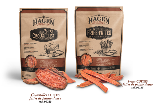Héritage Hagen : Régals cuits faits de patate douce
