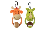 Zeus Mojo Naturals Door Knocker - Rhino or Giraffe - Assorted