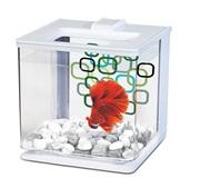 Marina Betta EZ Care Aquarium - White - 2.5 L (0.7 US Gal)