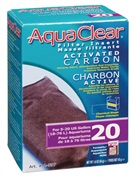 AquaClear 20 Activated Carbon Filter Insert - 45 g (1.6 oz)