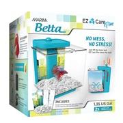 Marina Betta EZ Care Plus Aquarium Kit - Blue - 5 L (1.35 US gal)