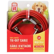 Dogit Pet Tether Dog Tie-out Cable - Large - 9 m (30 ft)