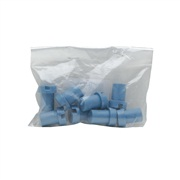Dogit Pet Voyageur Cool White/Fog Blue Carriers - Model 100 to 400 - Replacement Left Side Hinge (8) - Fog Blue
