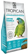 Tropican Lifetime Formula Granules for Parrots - 820 g (1.8 lb)