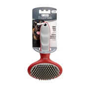 Le Salon Essentials Dog Rubber Slicker Brush - Large