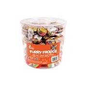 Cat Love Furry Frolics Cat Toy - Marble & Rainbow Foam Balls - 90 pieces