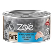 Zoë Pâté with Wild-Caught Fish for Cats – 85 g (3 oz)