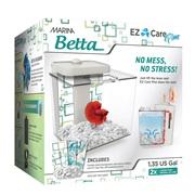 Marina Betta EZ Care Plus Aquarium Kit - White - 5 L (1.35 US gal)