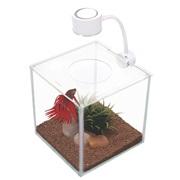 Marina CUBUS Glass Betta Kit - 3.4 L (0.9 U.S. gal)