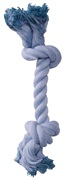 Dogit Dog Knotted Rope Toy - Blue Rope Bone - Small