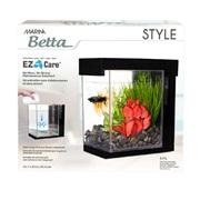 Marina Betta Style Aquarium - Black - 3.7 L (1 US gal)