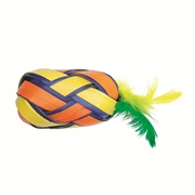 Cat Love Terra Toys Catnip Cat Toy - Egg with Feathers