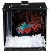 Marina Betta Special Edition EZ Care Aquarium - Black - 2.5 L (0.7 US Gal)