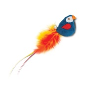 Catit Play Pirates Catnip Toys - Plush Parrot