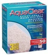 AquaClear 50 Ammonia Remover Filter Insert - 429 g (15 oz) - 3 pack
