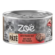 Zoë Pâté with Prairie Beef for Cats – 85 g (3 oz)