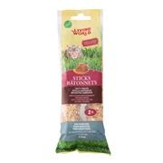 Living World Hamster Sticks - Honey Flavour - 112 g (4 oz) - 2 pack