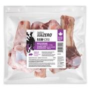 Nutrience Subzero Raw Bones for Dogs - Wild Boar - 680 g (1.5 lb) - 8 pack