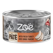 Zoë Pâté with Fresh Turkey for Cats – 85 g (3 oz)