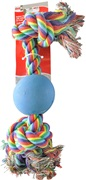 """Dogit Knot-A-Rope Tug Toy with Ball - 23 cm (9"""")"""