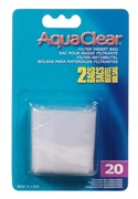 AquaClear Nylon Filter Media Bags for AquaClear 20 Power Filter - 2 pack