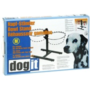 Dogit Adjustable Dog Bowl Stand - Medium - Fits 2 x 1.5L (50 oz) bowls