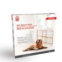 "Dogit Pet Safety Gate - Wire Mesh - 75 cm - 127 cm W x 81 cm H (29.5"" - 50"" W x 32"" H)"