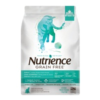 Nutrience Grain Free Indoor Cat – Turkey, Chicken & Duck Formula - 1.13 kg (2.5 lbs)