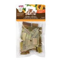Living World Small Animal Chews - Papaya Stalk Cubes - 20 g (0.7 oz)