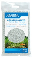 Marina Cream White Decorative Aquarium Gravel - 10 kg (22 lbs)