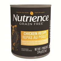 Nutrience Subzero Wet Food for Dogs - Chicken Recipe - 374 g