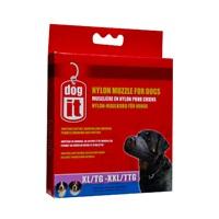 """Dogit Nylon Dog Muzzle - Black - X Large to XX Large - 24 cm (9.4"""")"""