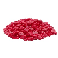 Marina Decorative Aquarium Gravel - Red - 450 g (1 lb)