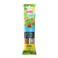 Living World Canary Sticks - Honey Flavour - 60 g (2 oz) - 2 pack