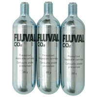 Fluval Pressurized Disposable CO2 Cartridges - (3 x 88 g)