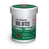 Nutrafin Bug Bites Turtle Formula – Small to Medium Turtles –  5-7 mm - 45 g (1.6 oz)