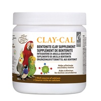 HARI Clay-Cal Bentonite Clay Supplement for Birds - 500 g (1.1 lb)