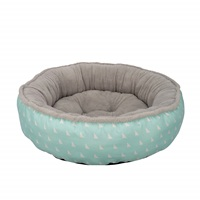 Dogit DreamWell Dog Donut Bed - Baby Blue - Small - 56 cm dia (22 in)