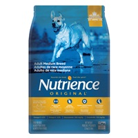 Nutrience Original Adult Medium Breed - Chicken Meal with Brown Rice Recipe - 2.5 kg (5.5 lbs)