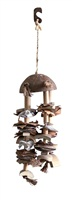 Living World Nature's Treasure Bird Toy Coco Shell Chime - For Small and Medium Hookbills